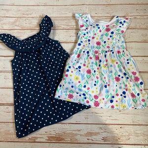 Wonder Nation Toddler Girl Summer Dress Bundle